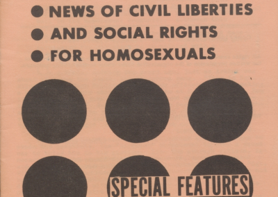Homosexual Citizen 1966